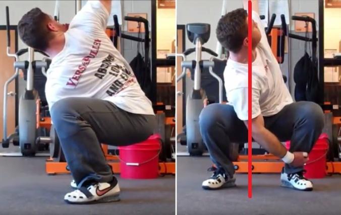 squat t rotation