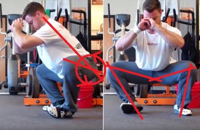 squat w eversion